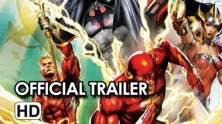 Justice League The Flashpoint Paradox 2013 Trailer